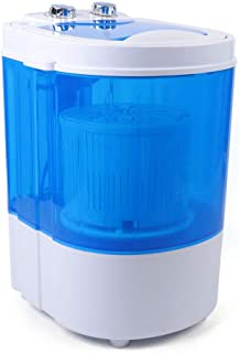 Lavadora portátil 2 en 1, 6 kg, mini lavadora de mano, centrifugado automático, para camping, camping de verano al aire libre