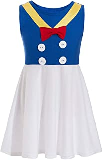 Donald Costume Donald Princess Dress Mickey Costume Princess Cosplay Donald Duck Casual Costume Friends
