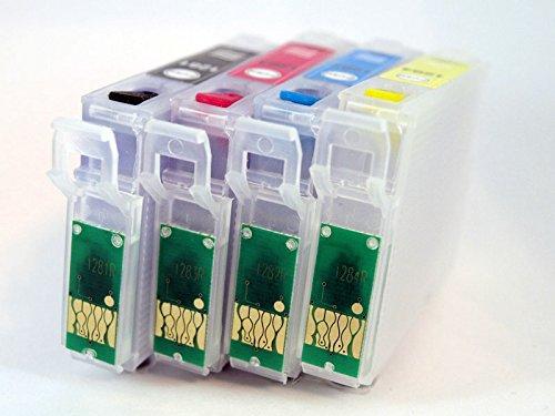 16XL Juego de Cartuchos Recargables con Chip ARCcompatible con la Serie 16XL para impresoras Epson. (No OEM)