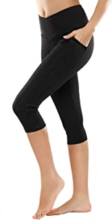 Yoga Pants,BESTENA Womens Leggings High Waist Tummy Control Workout Running Pants With Pockets