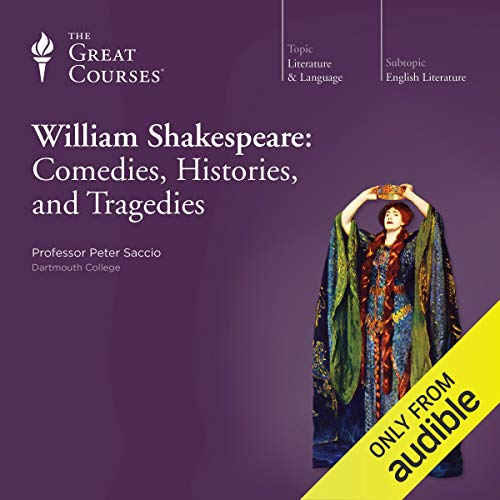 Couverture de William Shakespeare: Comedies, Histories, and Tragedies