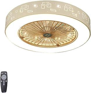 Ventilador De Techo con Luces - Ventilador Invisible con LáMpara - LáMpara Led De 55 Cm con Control Remoto Ventilador De IluminacióN Regulable De 3 Colores