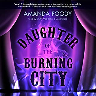 Couverture de Daughter of the Burning City