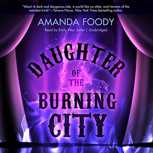 Daughter of the Burning City audiobook cover art