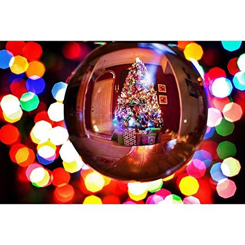 Kit de pintura de diamante 5D por número, kits de pintura de diamante para adultos y principiantes, para decoración del hogar, decoración de Navidad, 39,7 x 30 cm por Lazodaer