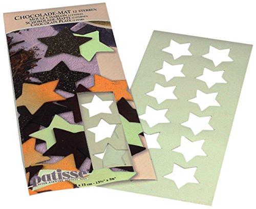 patisse 2047947 Moule chablons étoile 12 pièce, Autre, Blanc, 35 x 15 x 0,3 cm