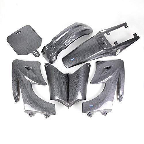 HMParts Verkleidung Set Dirt Pit Bike 125-150 CCM Typ 2 Carbon