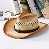 Zun068 Sombrero para el Sol Sombrero de Jazz con sombrilla C