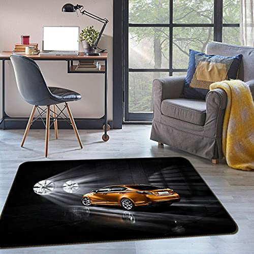 YIXM Alfombras Salon Grandes, Alfombras Rectangulares con Estampado 3D, Alfombrilla Interior Lavable...