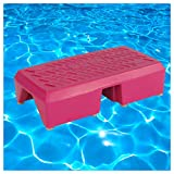 Aqua-Step Aqua Fitness Aquagymnastik Trainings-Step Unterwasser Aerobic, 6 kg