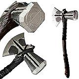YPL Stormbreaker in Foam Props Replica Odinson Hammer Axe Cosplay Thor Costume Prop 27' Thor Stormbreaker