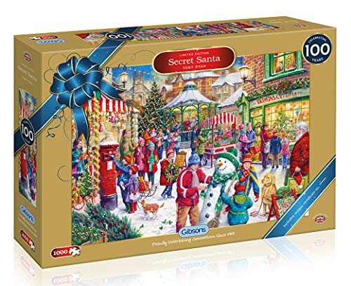 Gibsons Secret Santa Christmas Limited Edition Puzzle (1000 Stück)