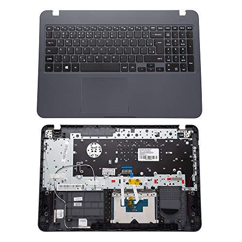 Teclado para Notebook Samsung Expert X30 NP350XAA   ABNT2 - '?' na tecla W Com Top Cover - Cinza