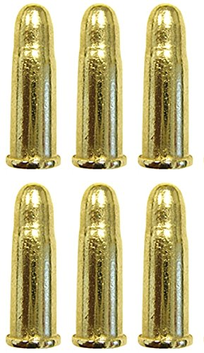 6 Stk. Denix Patronen für 45 er Colt 2,9 cm Repliken