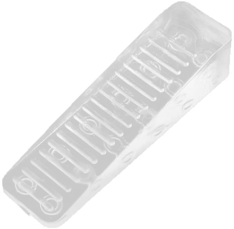 Rocky Ranking TOP5 Mountain Goods Clear Wedge Door Stop Ribbed Oakland Mall on fo Bottom -