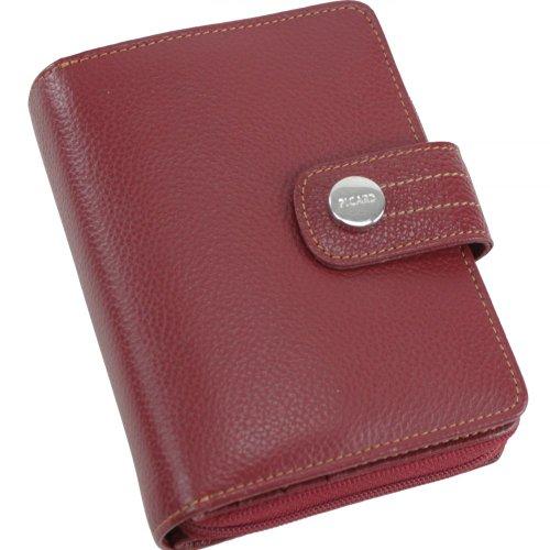 Picard, Damen Geldbörse aus robustem Leder, in der Farbe Rot, aus der Serie Melbourne, mit Reißverschluss, 8465757087