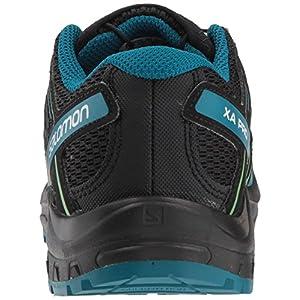 Salomon Kids' XA Pro 3D J Trail Running Shoes, Medieval Blue/Mazarine Blue/Tangelo, 1 Child US
