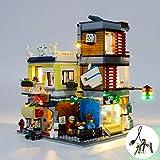 Kit Luce del LED per Lego Creator Townhouse Pet Shop & Café Costruzione Lighting Set Compatibile con 31097 (LED Inclusi Solo)