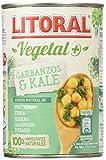 Litoral Vegetal Garbanzos con Kale - 425 gr