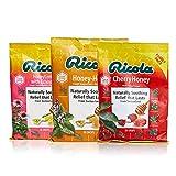 Ricola Honey Cough Suppressant Throat Drops Bundle,...