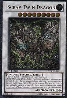Yu-Gi-Oh! - Scrap Twin Dragon (STBL-EN044) - Starstrike Blast - 1st Edition - Ultimate Rare