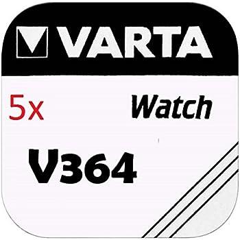 1x V370 Uhren-Batterie Knopfzelle = SR69W SR920W VARTA