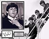 Signing Dreams Autographs - Soporte para Fotos firmada por Sir Paul Mccartney - The Beatles - Hard Days Night - Distribuidor 100% en Persona - Registrado por UACC #242