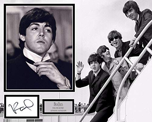 Autogramme von Sir Paul McCartney #242, Autogramm, The Beatles - Hard Days Night