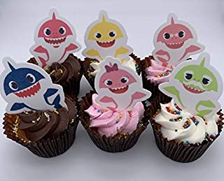 Decoraciones comestibles para cupcakes de bebé, diseño de