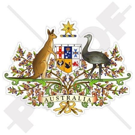 Australien Australisch Karte Flagge Aussie 109mm Auto Motorrad Aufkleber Vinyl Sticker Garten