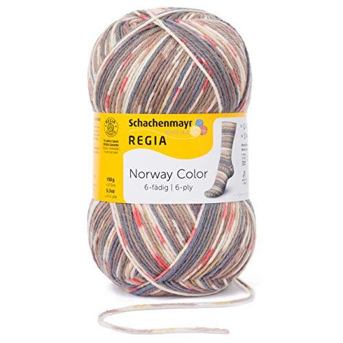 Schachenmayr REGIA Handstrickgarne 6-fã¤dig Color, 150g Trondheim