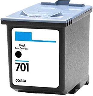 Machter US Stock Remanufactured Ink Cartridge Replacement for HP 701 CC635A Work for HP Fax 640, 650, 2140