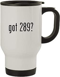 got 289? - Stainless Steel 14oz Travel Mug, White