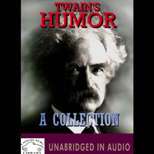 Twain's Humor audiobook cover art