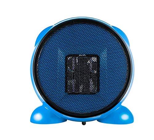Mini calentador eléctrico de dibujos animados de 500 W, calentador de aire interior PTC, calentador de escritorio con ventilador eléctrico