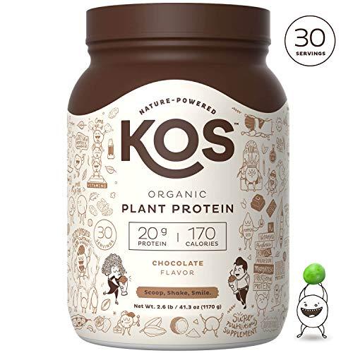 KOS Organic Plant Based Protein Powder – Raw...