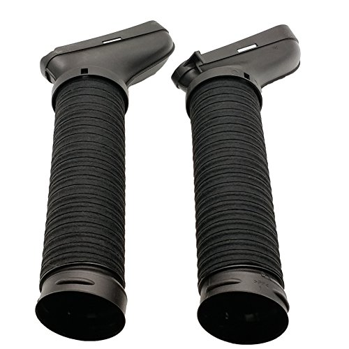 2PCS Air Intake Duct Hose Right +Left Side for 2010 2011 2012 Mercedes GLK350 Base 4Matic 3.5L 2720902982 2720902882