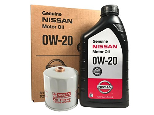 Genuine Nissan 0W-20 Oil Change Kit 15208-65F0E
