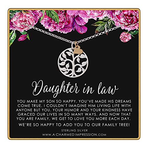 Daughter in Law Gift • Welcome to our Family Tree • Sterling...