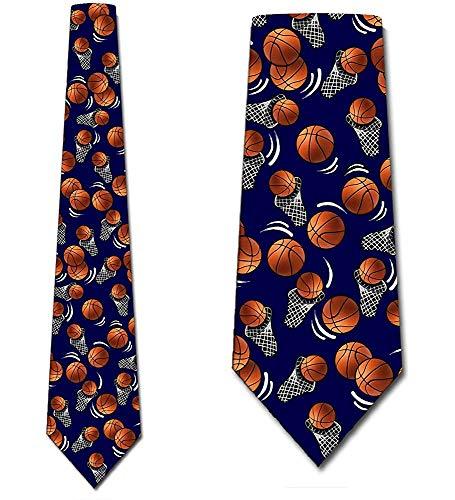 WILHJGH Die Marine-Sport-Korb-Ball-Krawatten der Basketball-Krawatten-Männer durch drei Rooker