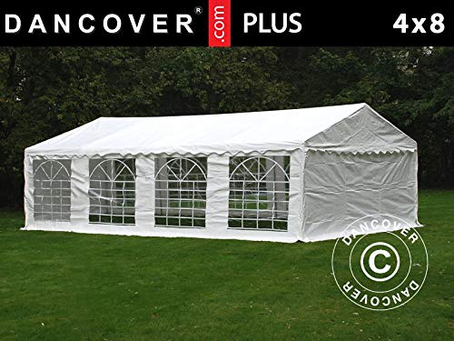 Dancover Partytent PLUS 4x8m PE, Wit