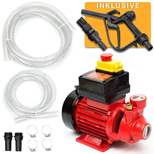 Dieselpumpe 600W 35l/min Heizölpumpe Ölabsaugpumpe Kraftstoffpumpe SN3550