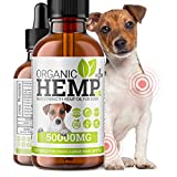 Hello Supplements® Hemp Oil For Dogs | Rich in Antioxidants & Omega 3 6 9 | Supports Arthritis, Anxiety, Joints, Itchy Skin Relief | High Strength Natural Organic Hemp Oil Drops For Dogs | Large 50ml