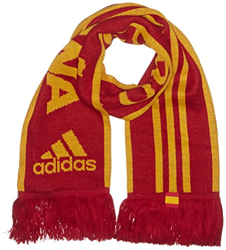 adidas CF Espana Bufanda, Unisex Adulto, Power Red/EQT Yellow s16, OSFM