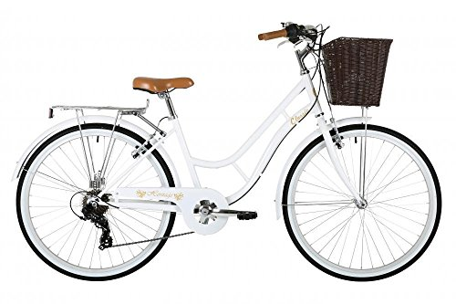 Classic Heritage Ladies 26' Wheel 7 Speed 16'£ Frame Traditional Bike Bicycle White