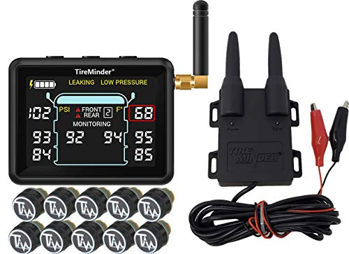 Minder Research TM22143 TireMinder i10 RV TPMS with 10 Transmitters