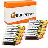 10 Bubprint Druckerpatronen kompatibel für Canon PGI-550 XL PGI-550XL PGBK für Pixma IP7200 IP7250 IX6850 IP8750 MG5450 MG5550 MG5650 MG6350 MG6450 MG6650 MG7150 MG7550 MX725 MX920 MX925 Schwarz