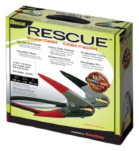 Quick Cable 602332 Rescue Starthilfekabel, 1 Gauge, 20 m, 500 Amp