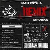 """【店舗限定特典つき】 MAN WITH A """"REMIX"""" MISSION(通常盤)(オリジナルステッカー付き)"""