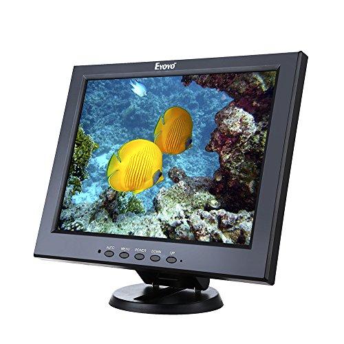 Eyoyo IPS LCD CCTV Monitor Display 16: 10 Anti-Glare HD Video Schermo VGA HDMI BNC Ypbpr per Sicurezza DVD PC BJ6 (12pollici)